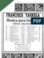 Francisco Tarrega - El Pobre Valbuena Polka Japonesa for Guitar