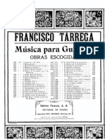 Francisco Tarrega - Estudio en Forma de Minuetto for Guitar