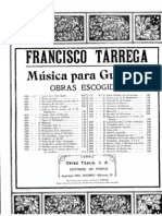 Francisco Tarrega - Minuetto for Guitar
