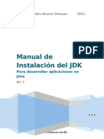 Manual de instalación del JDK