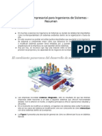 Arquitectura Empresarial Para Ingenieros de Sistemas - Resumen