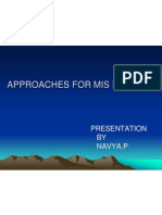Approach for Mis Design