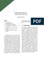Big Brother Brasil_ Realidades Espectacularizadas