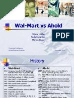 Walmart a Hold