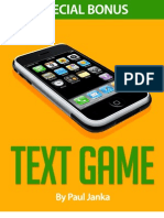 Text Game