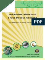 E-filing ITR Hbook