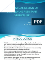 Economical Design of Earhquake Resistant Structure