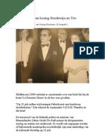 De relatie tussen koning Boudewijn en Tito