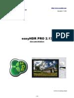 EasyHDR PRO Doc Version-2-13