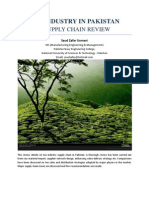 Tea Industry in Pakistan - A Supply Chain Review by Saud Zafar Usmani