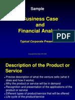 PEPVC-Sample Business Case Presentation