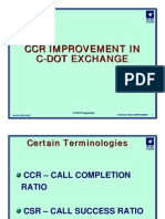 Improvement of Call completion ration in CDoT Xge