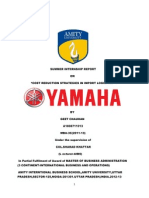 yamaha import logistics