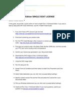 Creo 1 SChools Ed Quick Install Guide