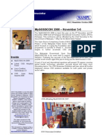 OSCC MAMPU Oct 2008 Newsletter