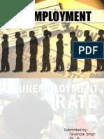 Unemployment Ppt