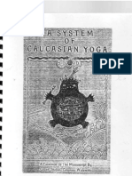 A System of Caucasian Yoga - by Count Stefan Colonna Walewski__NEW, OCRed & Readable, but Without Pictures