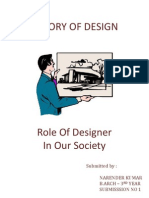 Role of Designer