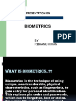 Biometrics Presen
