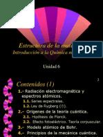 Estructura de la materia. Introducción a la Química moderna