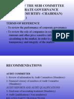 C.G. Narayan Murthy Committee Report