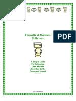 Simple Bathroom Etiquettes