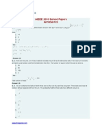 AIEEE 2010 Solved Papers