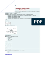 AIEEE 2011 Solved Papers