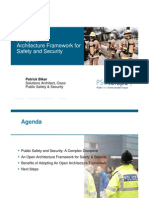 2009 06 23 an Architecture Framework for Safety Security