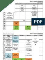 Jadwal Blok 11 UNTAD 2012 - Revisi