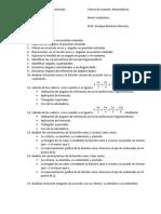 Temas de Examen 11° II prueba II periodo