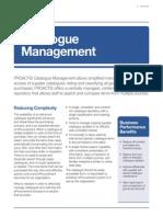 Catalogue Management