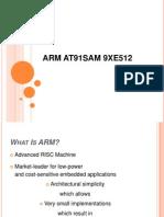 Arm At91sam 9xe512
