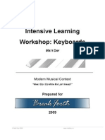 Breakforth Intensive Learning Workshop MDay