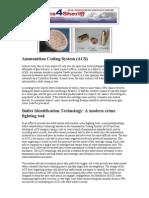 Ammunition Coding System