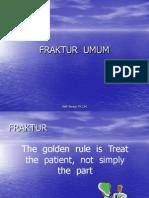 FRAKTUR  UMUM
