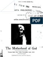 The Motherhood of God, by Swami Abhedananda