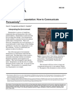 Ei Persuasive Communication