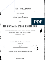 The Word and the Cross in Ancient India, by Swami Abhedananda