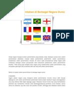 Sistem Pemerintahan Di Berbagai Negara Dunia