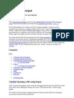 C File Input