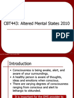 Altered Mental States