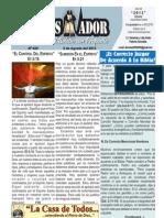 """2012-08-05 """"EL CONQUISTADOR"""" Boletín Semanal de La casa de Todos"""