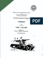 Camp Coxcomb History
