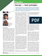 Photodynamic therapy — basic principles