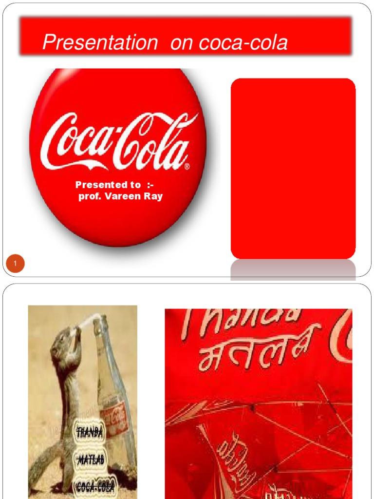 presentation on coca cola coca cola cola