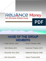 Reliance Money1