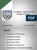 Gestión Pública del Estado Peruano