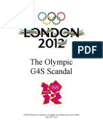 A Brief Report on G4S Scandal by Luke Smith