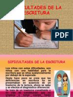Dificultades de La Escritura_exposicion